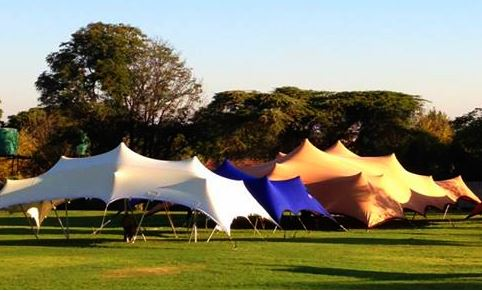 Stretch Tents in Sizes and Colours to Suit Your Needs